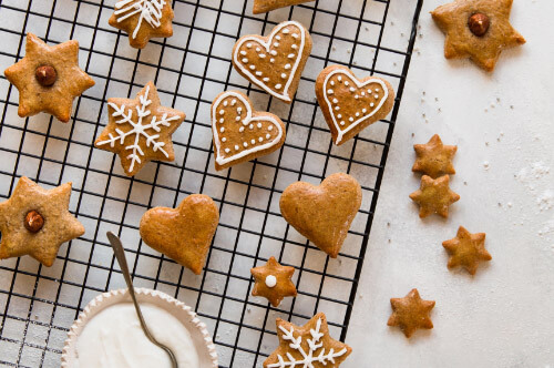 Lebekuchen-Kekse