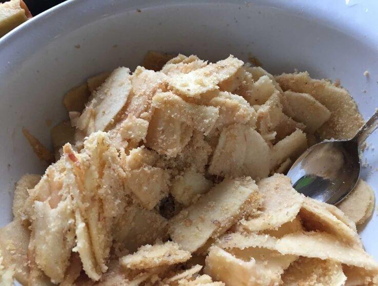 Apfelstrudel Zubereitung