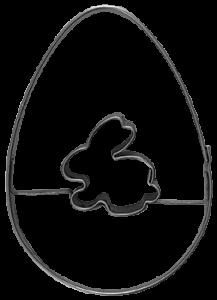 Keksausstecher Osterhase