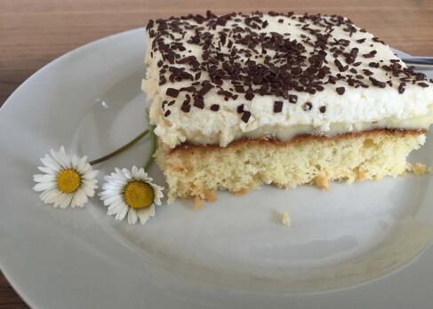 Kokos-Pudding-Kuchen