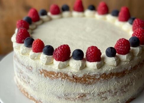 Vanillecreme-Torte