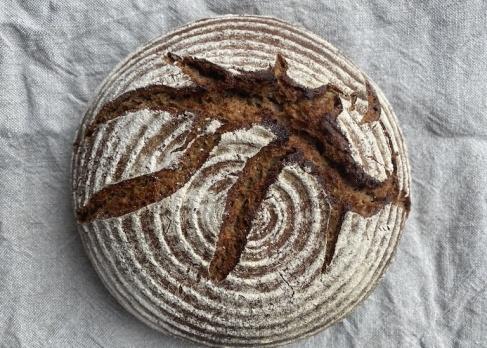 Roggen-Weizen Brot